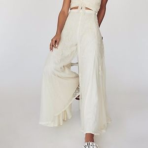 Free People Cordelia Lace Set-PANTS ONLY